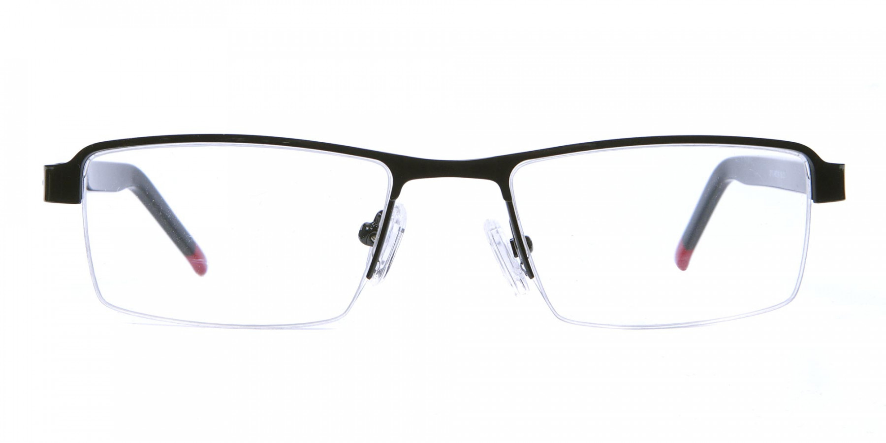 Rectangular Glasses in Black, Eyeglasses