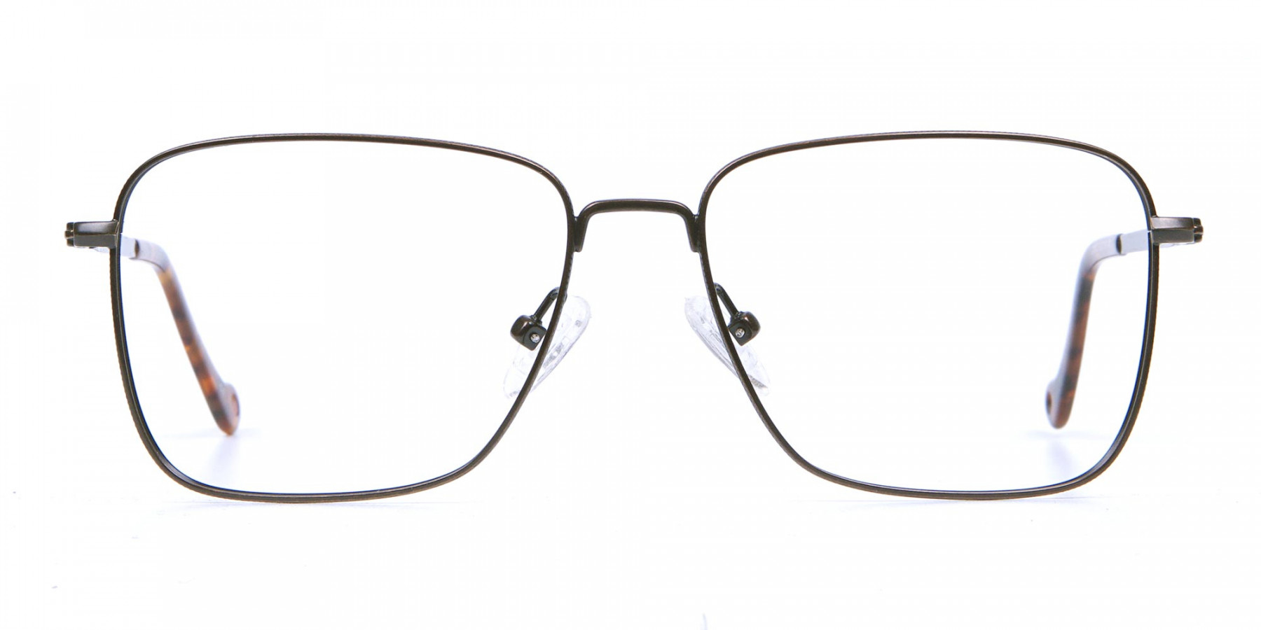 Brown Tortoiseshell Rectangular Glasses