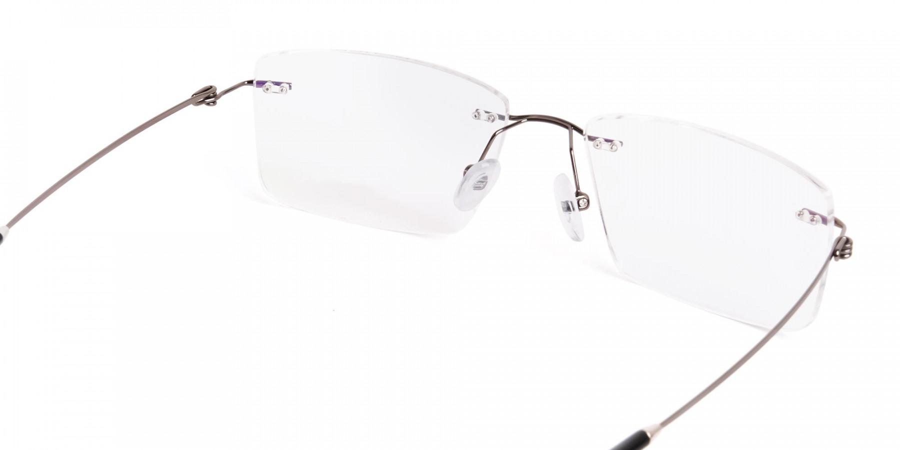 gunmetal-rectangular-rimless-titanium-glasses-frames-1