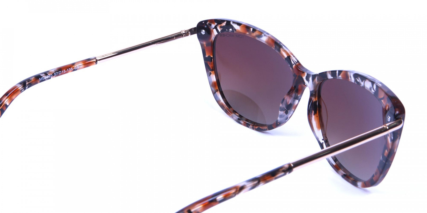 Havana Tortoiseshell Brown Red -2