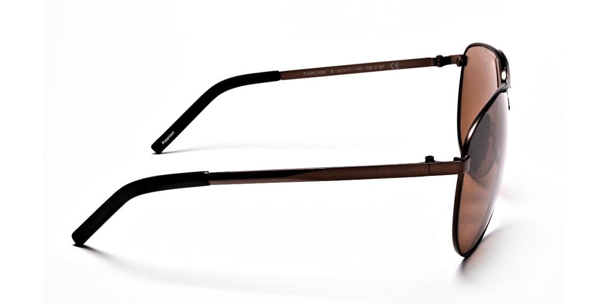 Brown Big Lenses Sunglasses - 2