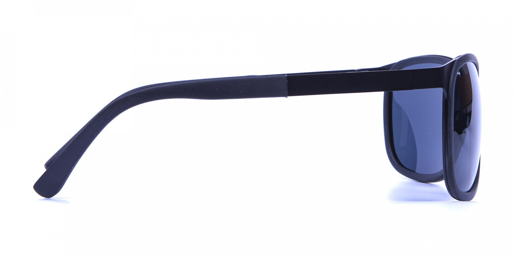 Subtle Black Square Sunglasses -2