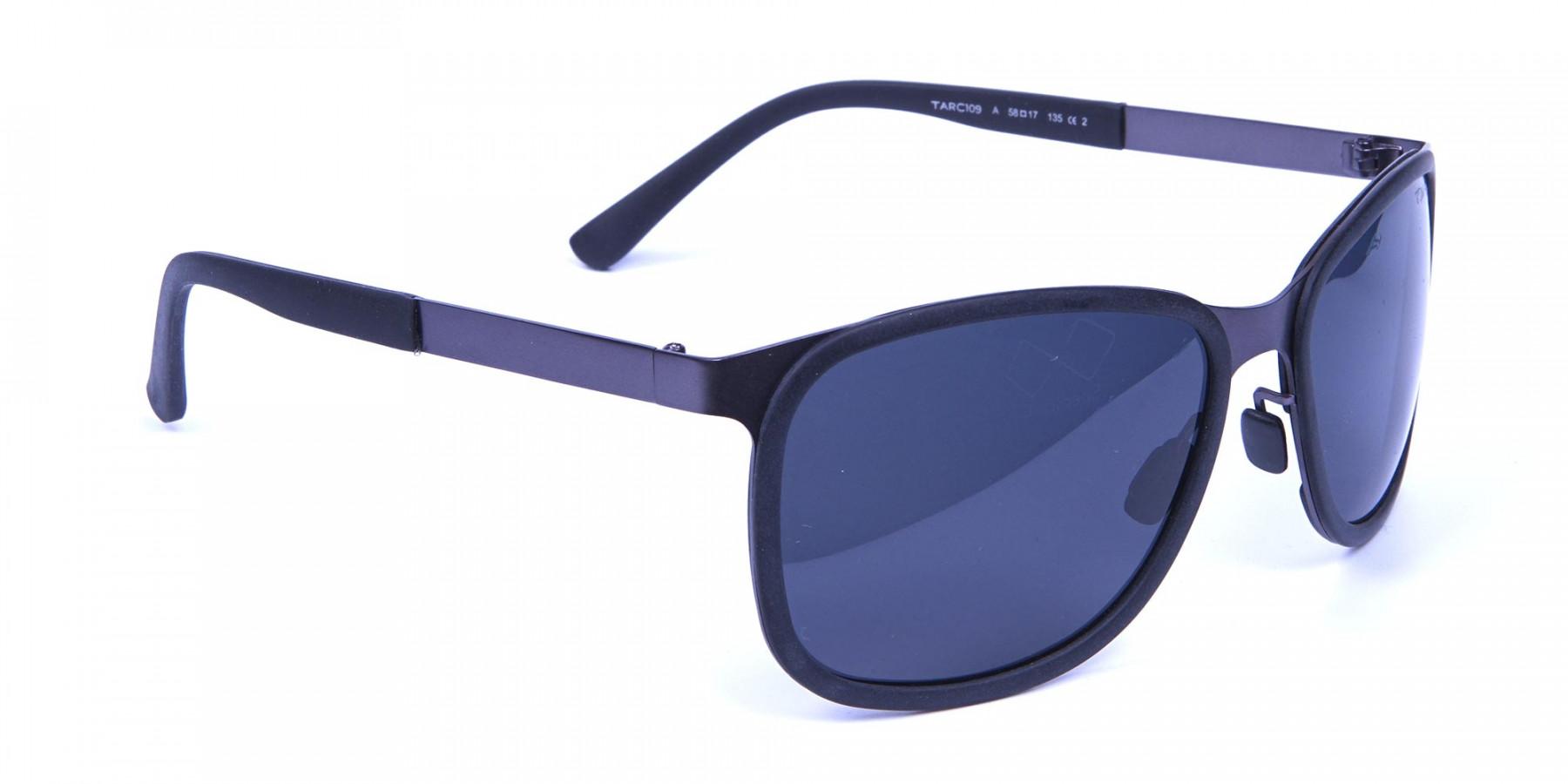 Gunmetal Temple Sunglasses -2