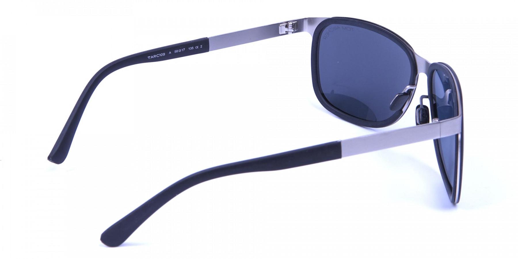 Flattering Silver Sunglasses -2