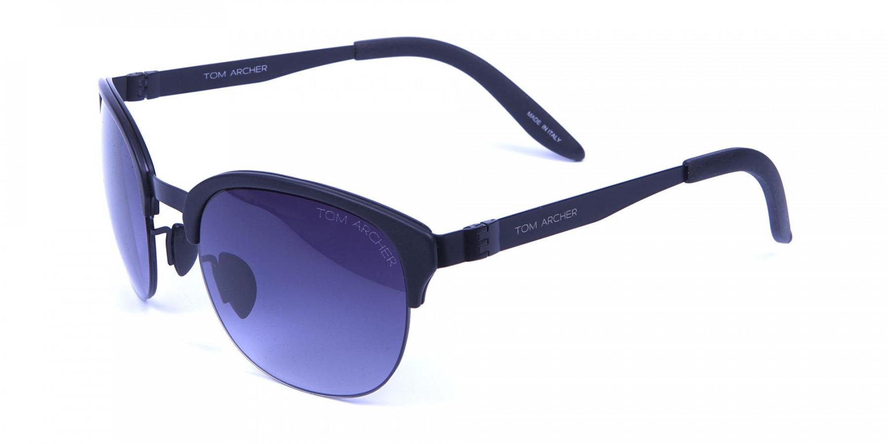Comfy Black Framed Sunglasses -3