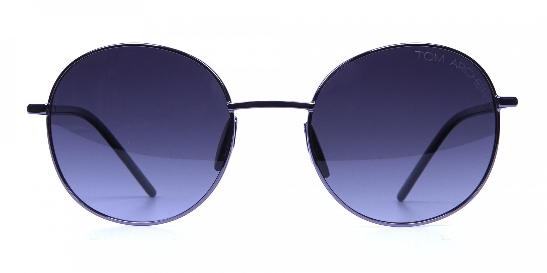 Gunmetal Sunglasses for Narrow Faces -2