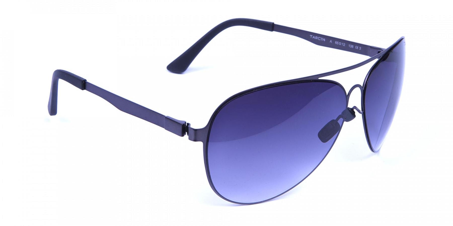 Gunmetal Colour Avatar Sunglasses -2