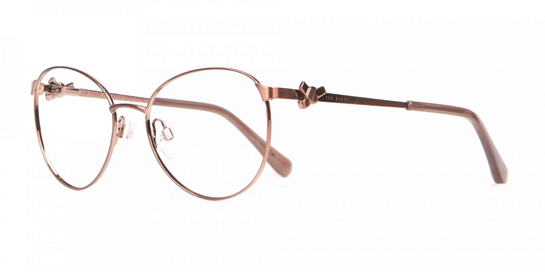 Ted Baker TB2243 Elvie Full Rim Round Metal Glasses Women-1