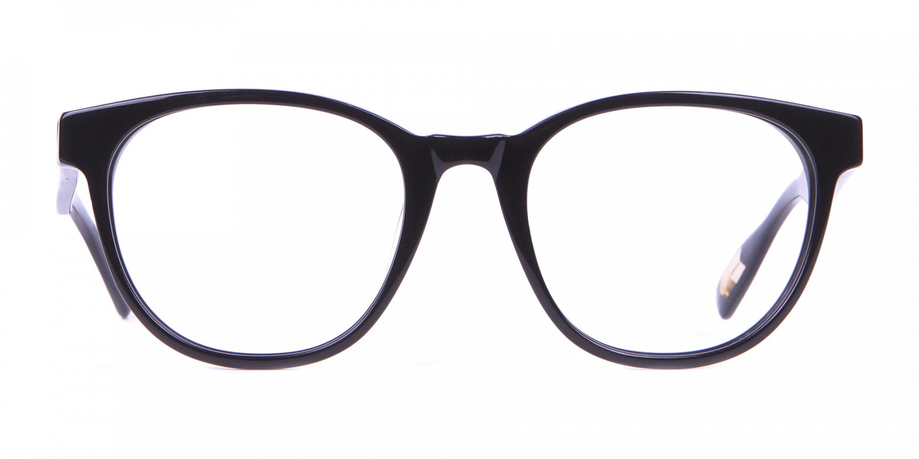 TED BAKER TB8197 Cade Glasses Classic Round Black Chunky-1
