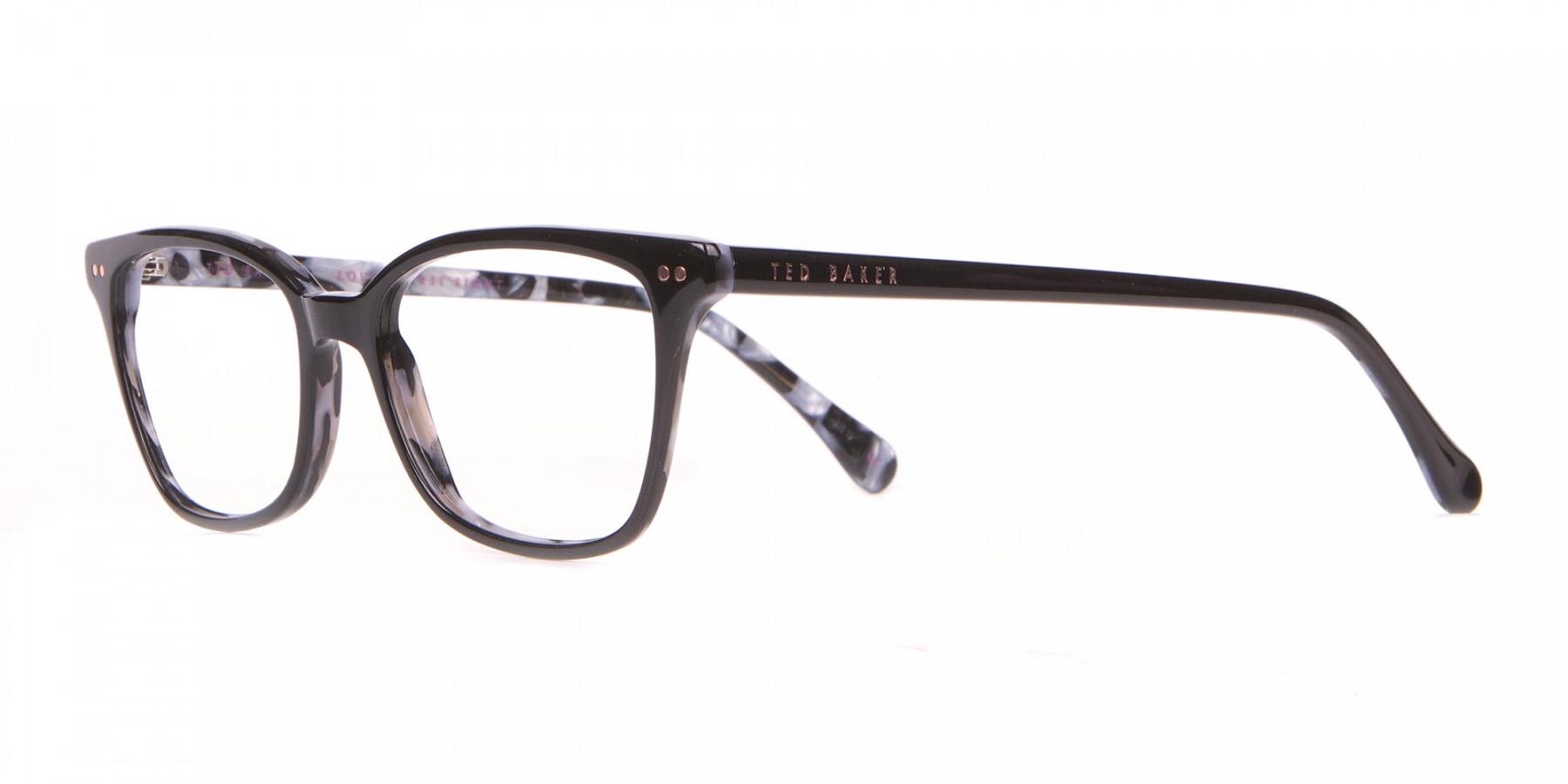 Ted Baker TB9123 CODY Black Rectangular Frame Women-1
