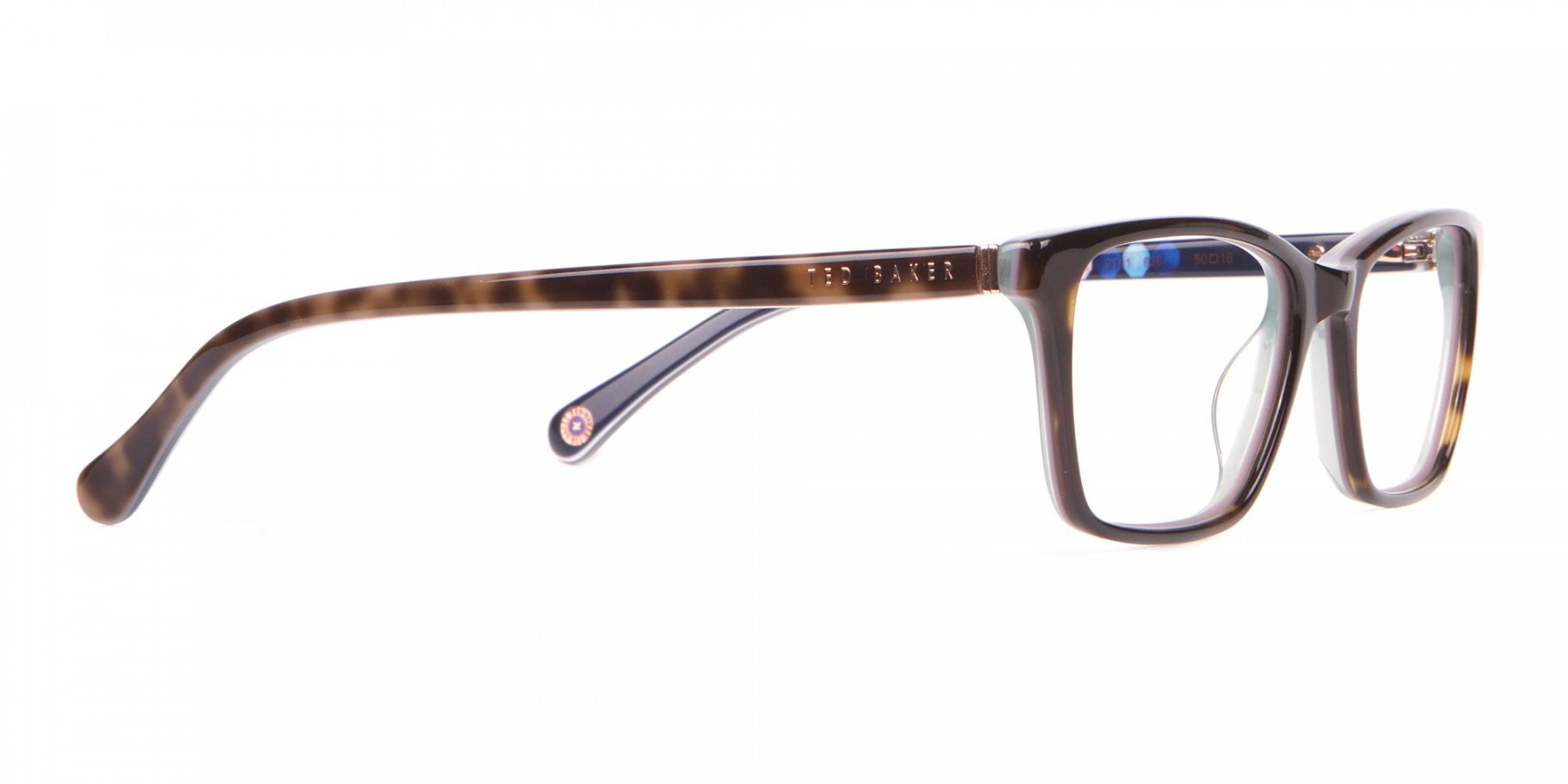 Ted Baker TB9141 Thea Blue & Tortoise Rectangular Glasses -1