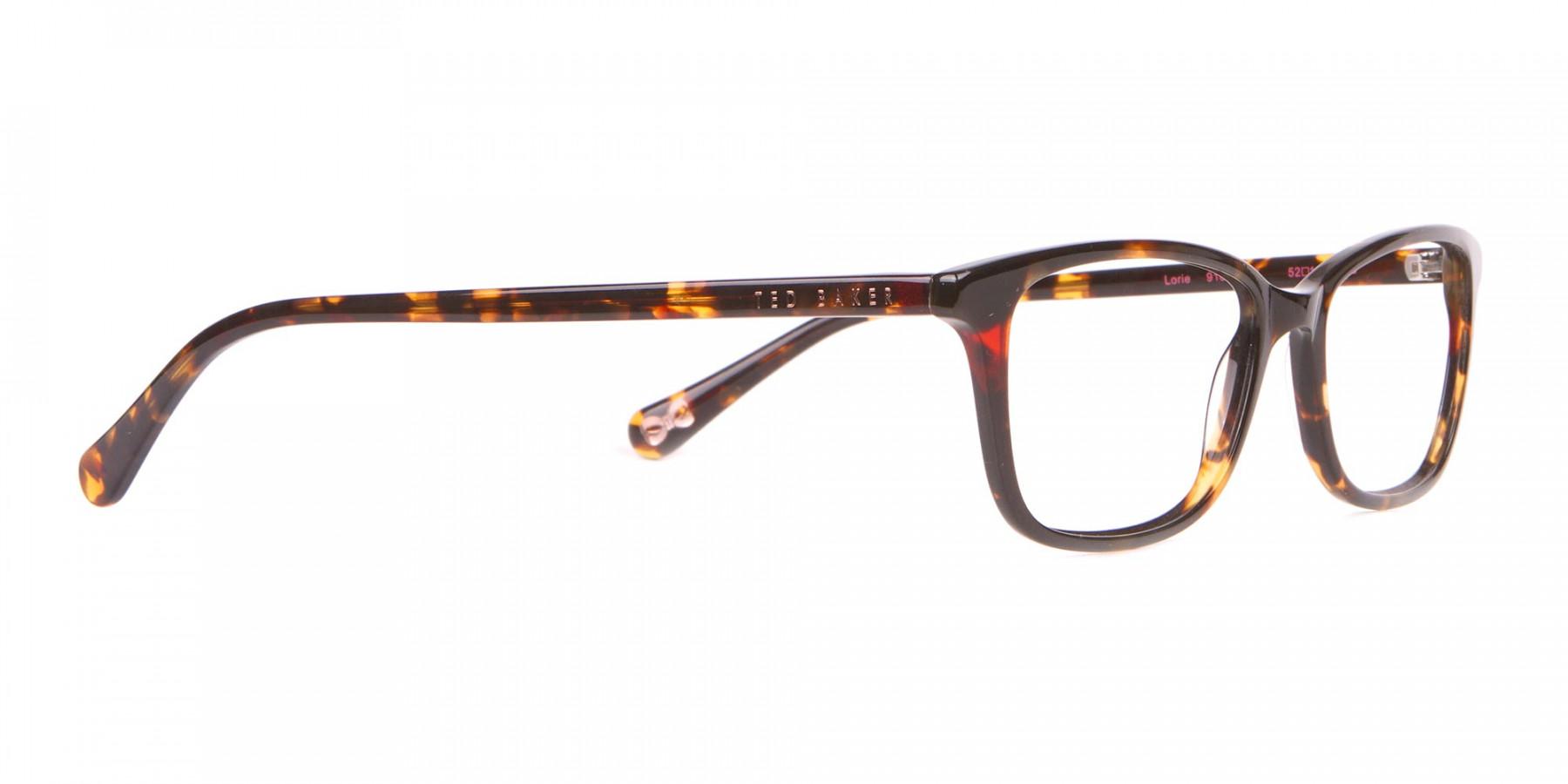 Ted Baker TB9162 Lorie Women Tortoise Rectangular Glasses-1