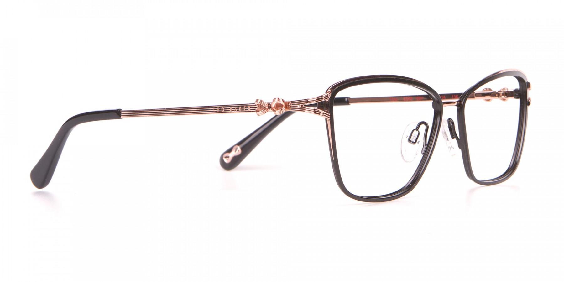 Ted Baker TB2245 Tula Women's Classic Cat Eye Glasses Black-1