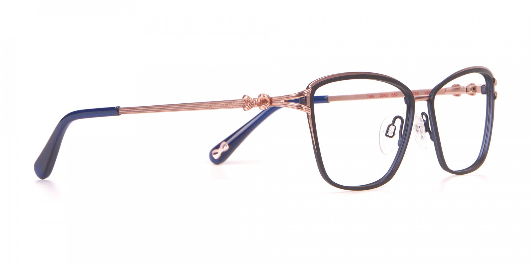 Ted Baker TB2245 Tula Women Classic Cateye Glasses Navy-1