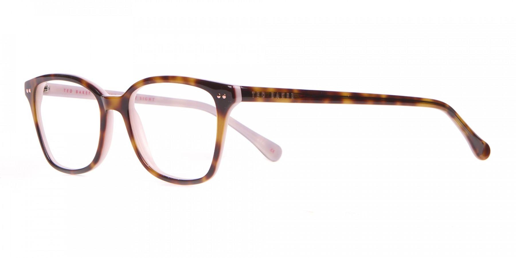 Ted Baker TB9123 CODY Pink & Tortoise Rectangular Frame-1