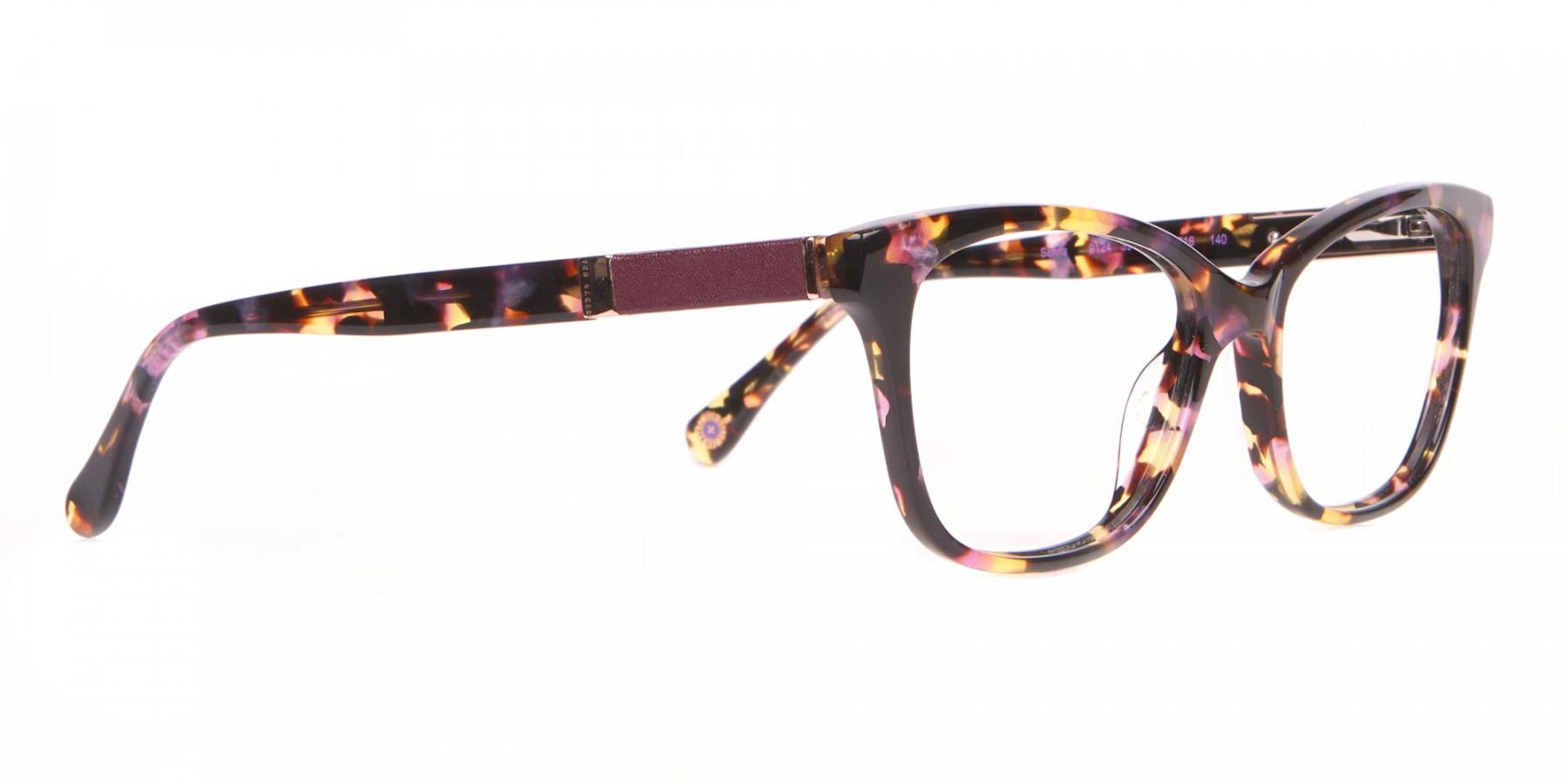 Ted Baker TB9124 SENNA Women Orange Tortoise Cateye Glasses-1