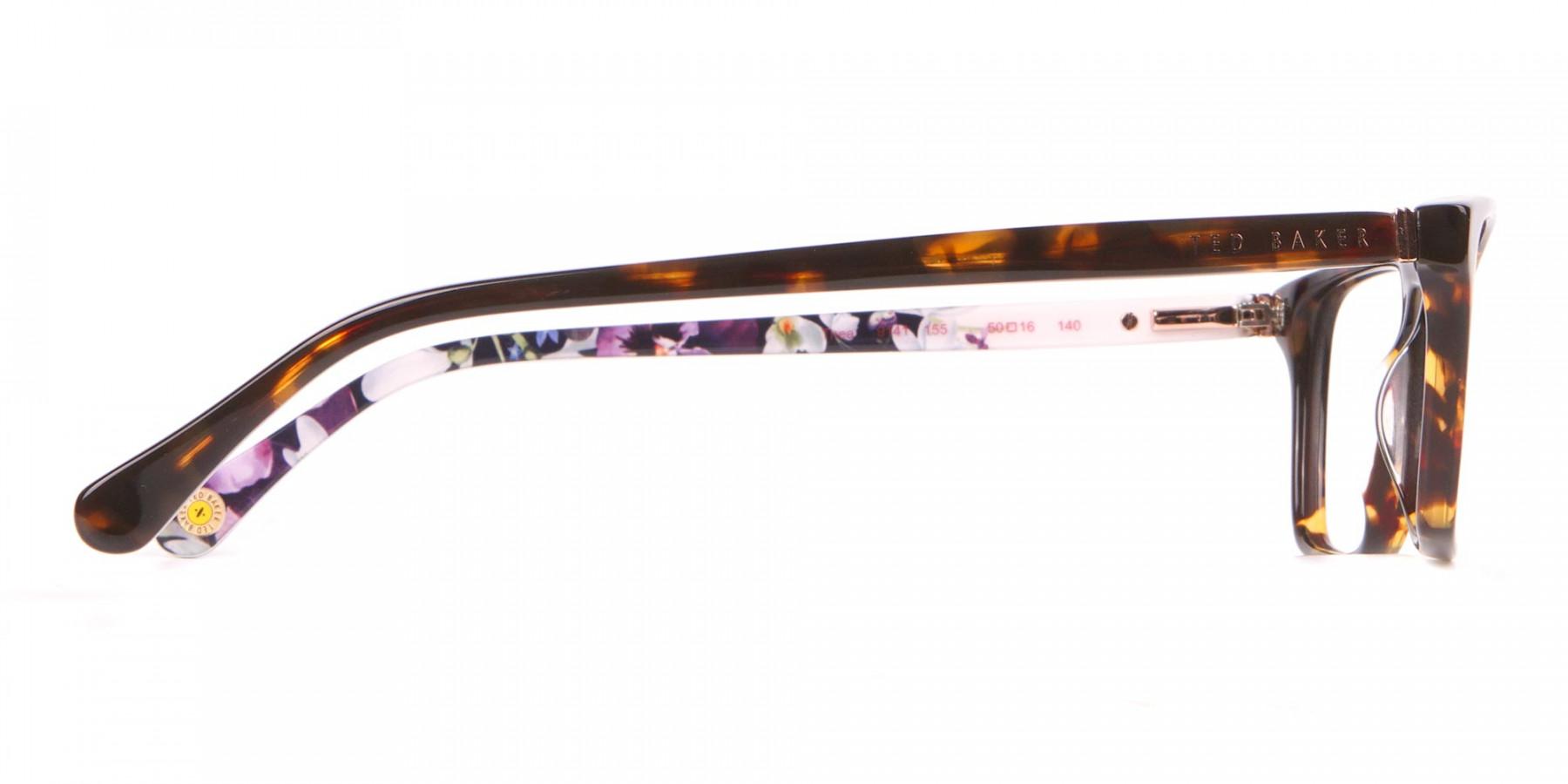 Ted Baker TB9141 Thea Women Tortoise Rectangular Glasses-1