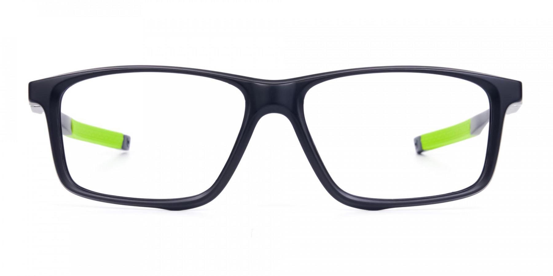 Black-Green-Rectangular-Rimmed-Glasses-1