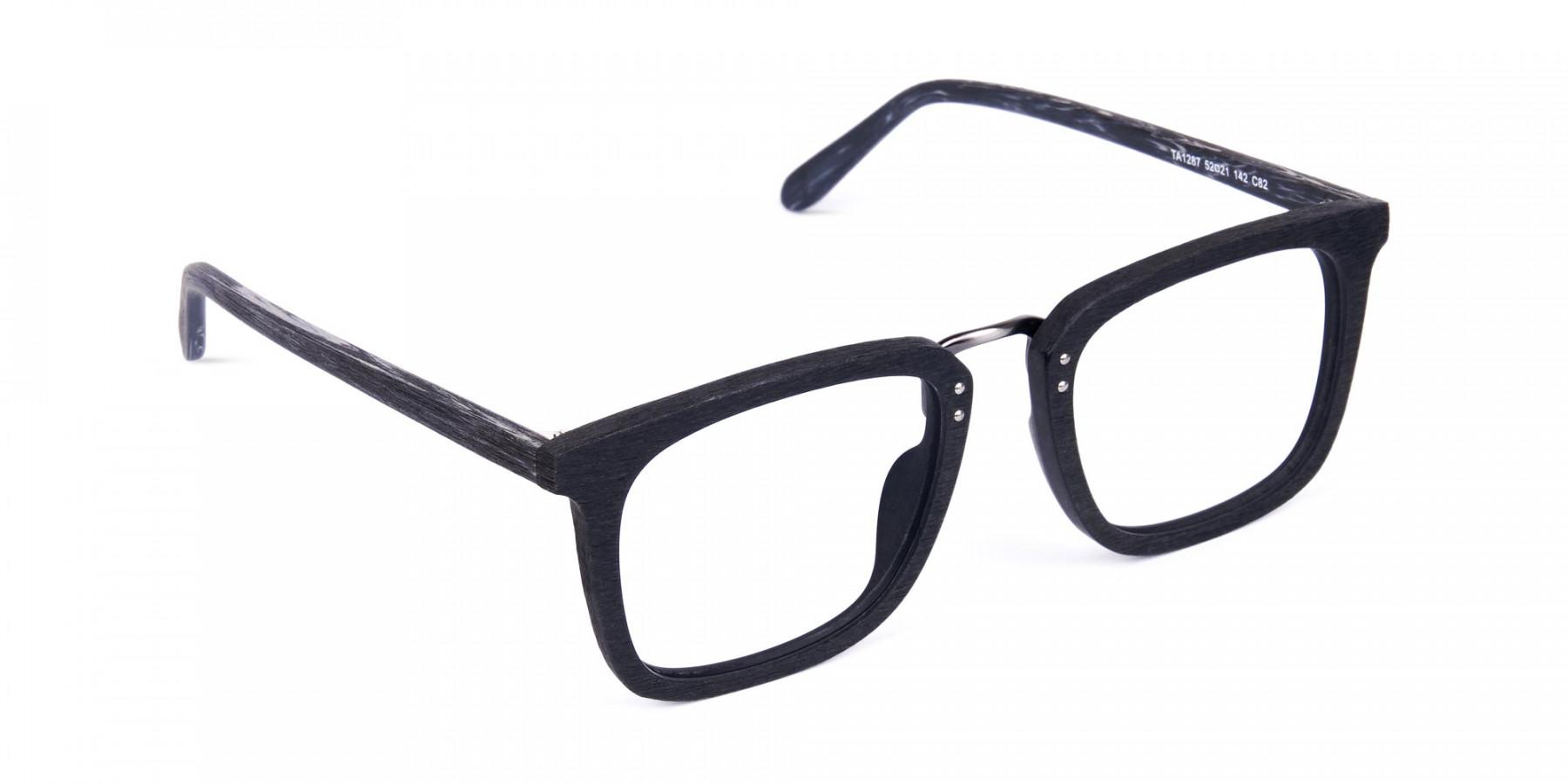 Wooden-Texture-Black-Square-Glasses-1