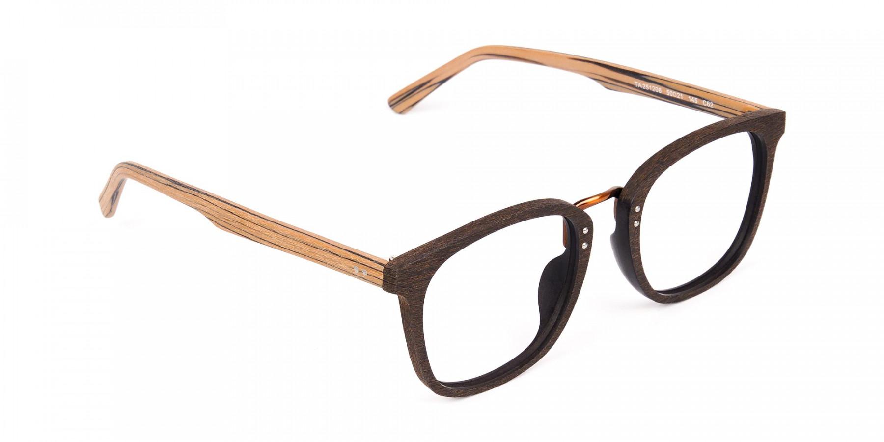 Wooden-Texture-Mocha-Brown-Rim-Glasses-1