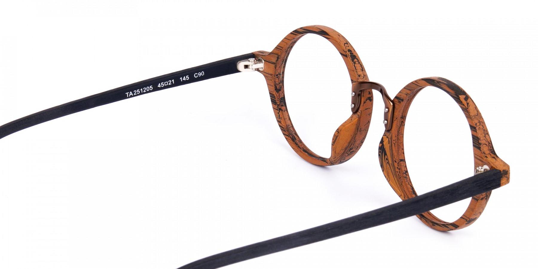 Elm-Brown-Round-Full-Rim-Wooden-Glasses-1