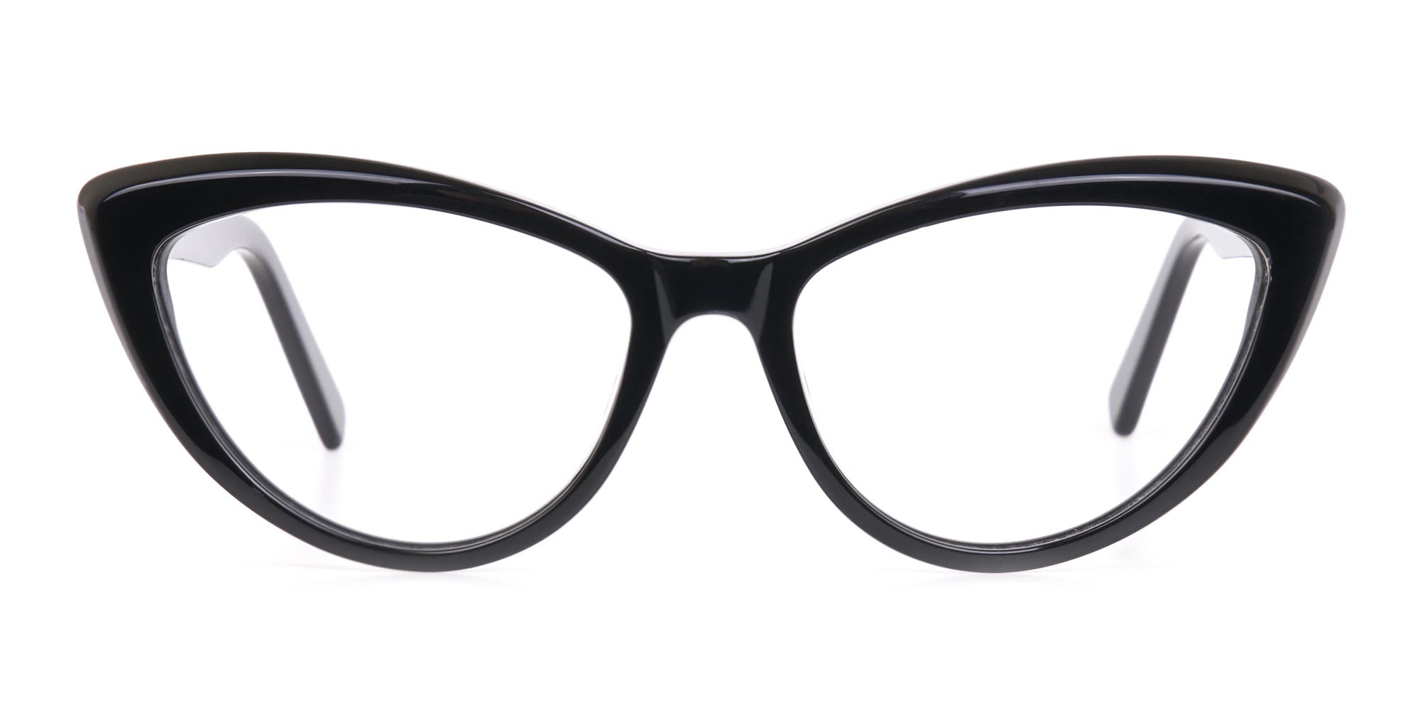 Black Cat Eye Glasses Frame For Women-1