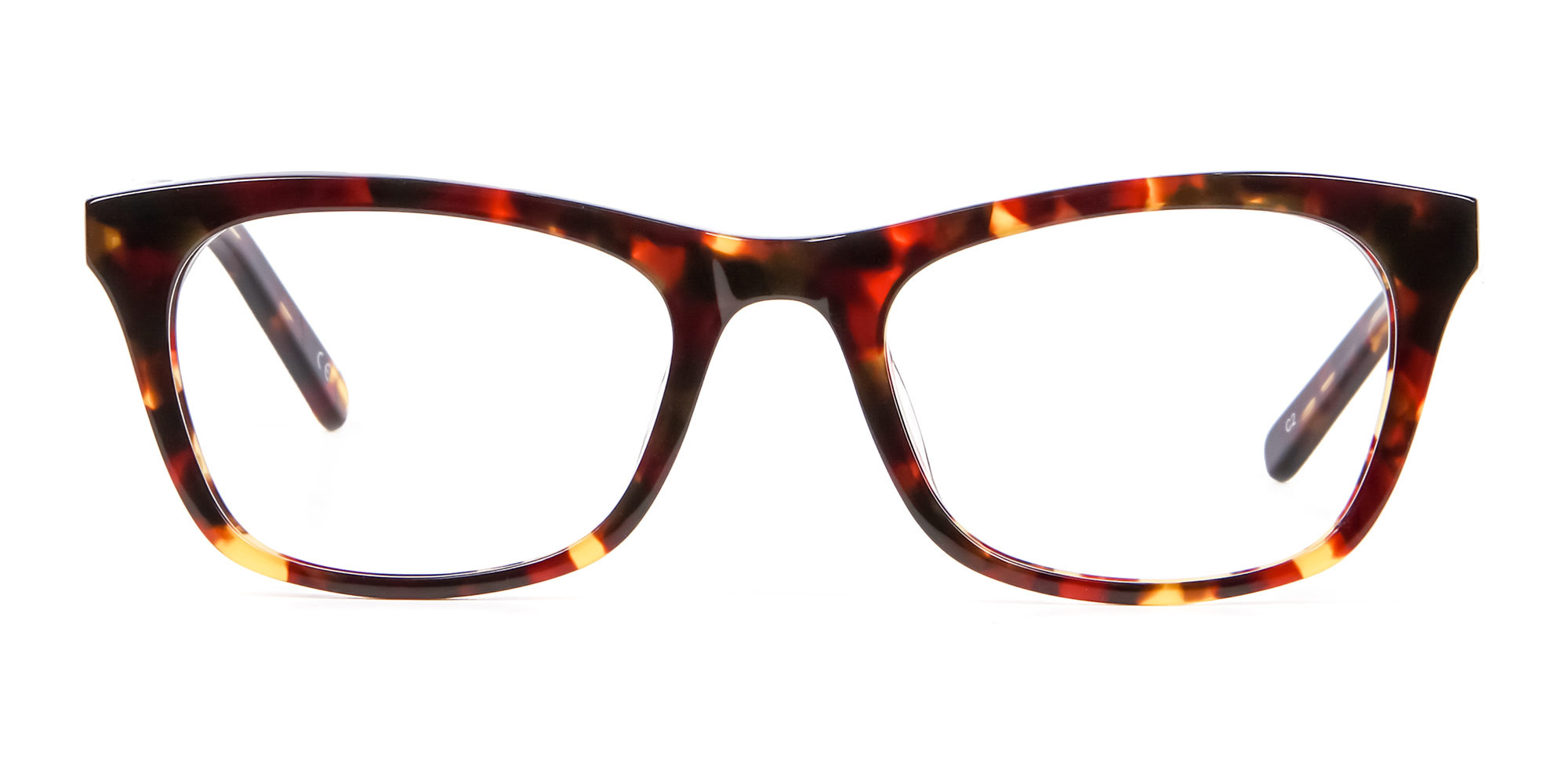 Warm-toned Tortoiseshell Glasses in Cat Eye Style
