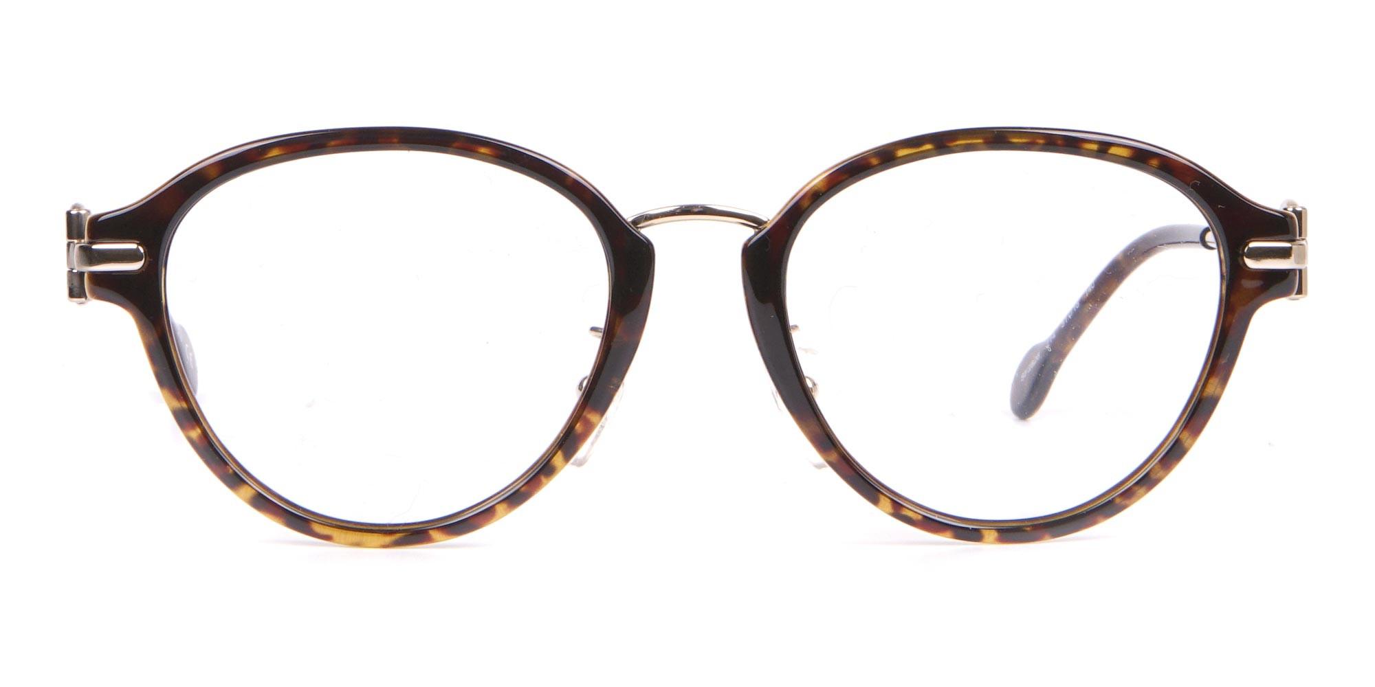 Salvatore Ferragamo SF2826 Women Round Glasses Tortoiseshell-1