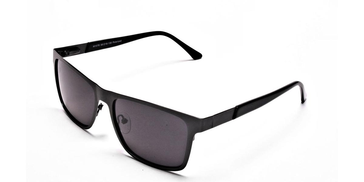 Dark Metal Sunglasses - 2