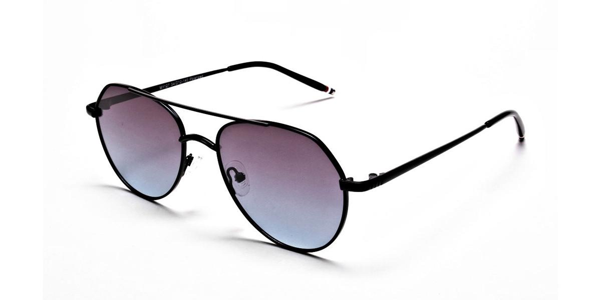 Blue & Black Sunglasses -2