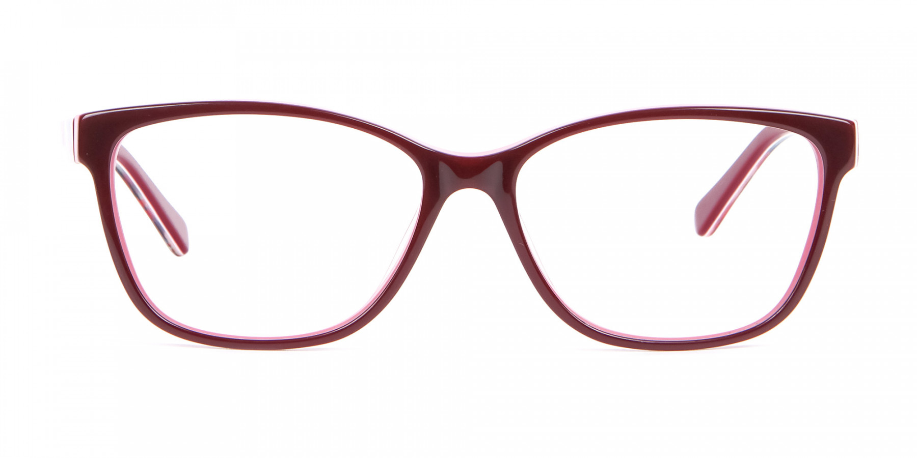 Two-tone Red Glasses for All Occasions-1
