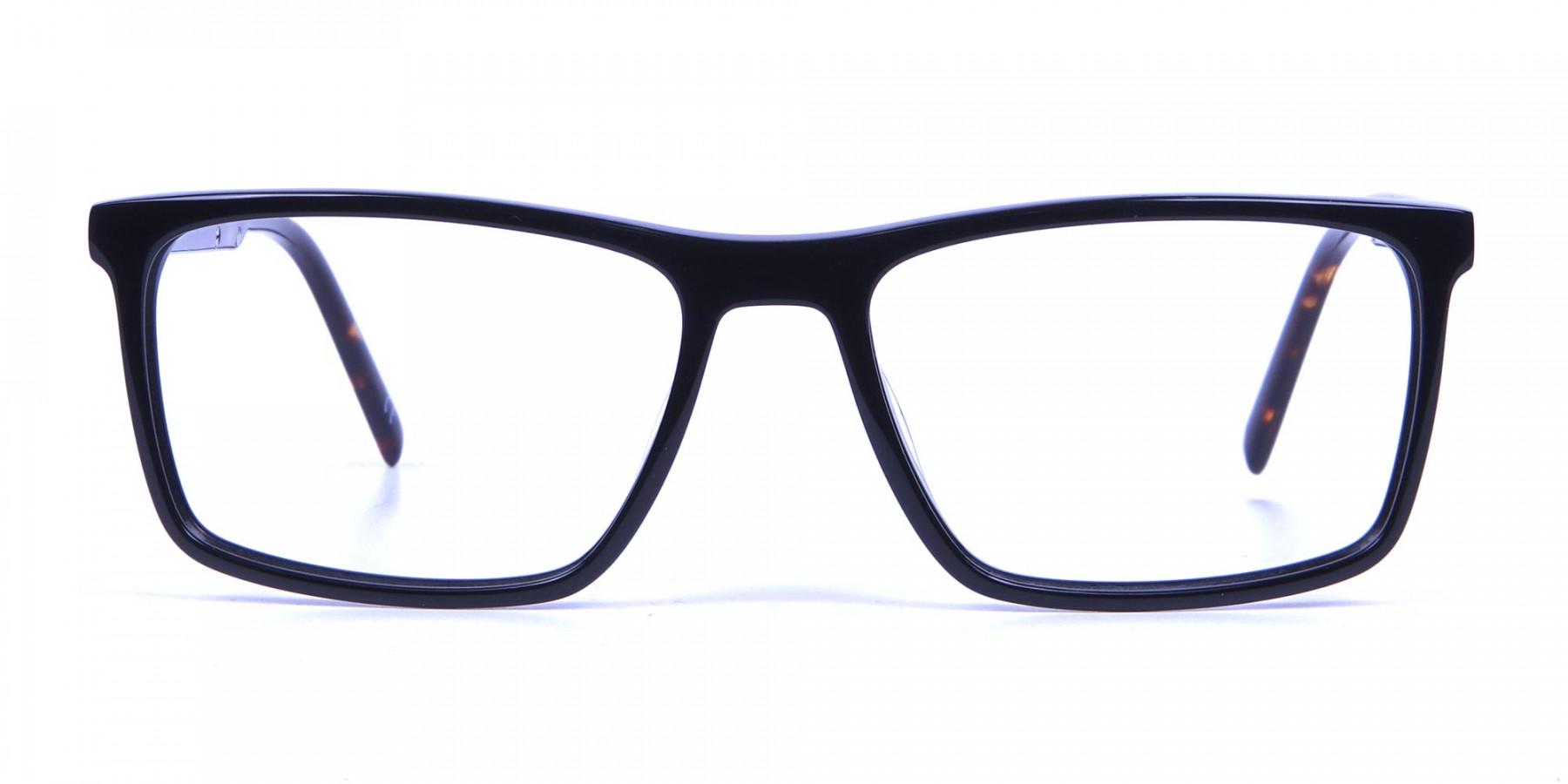 Black & Tortoiseshell Glasses