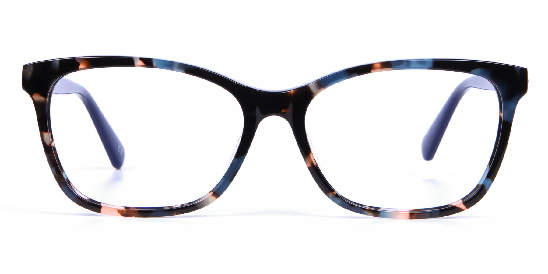 Blue Tortoiseshell Cat Eye Glasses for Women