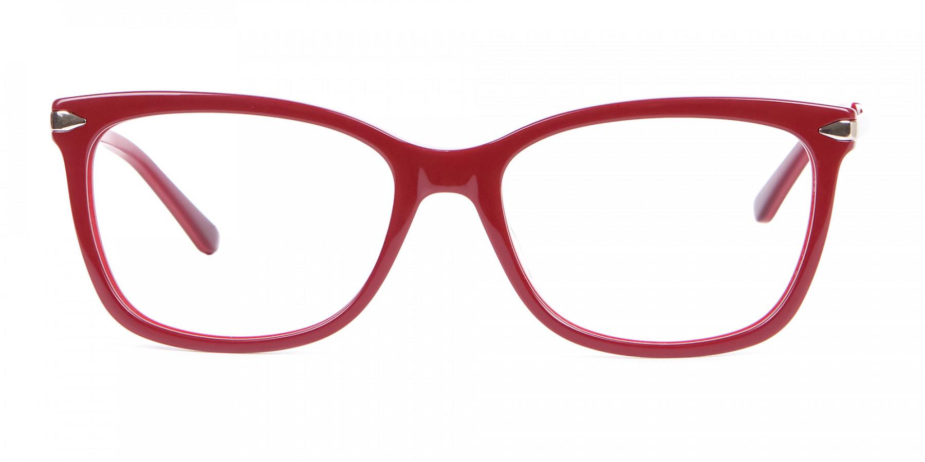 Woman Rectangular Glasses Neutral Design UK- 1