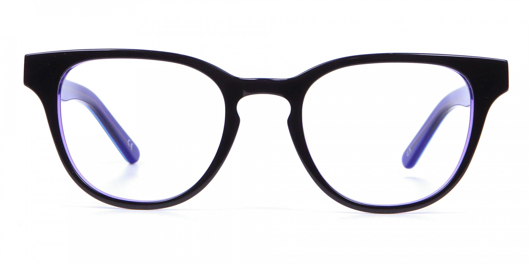 Black and Purple Frame for Small Face