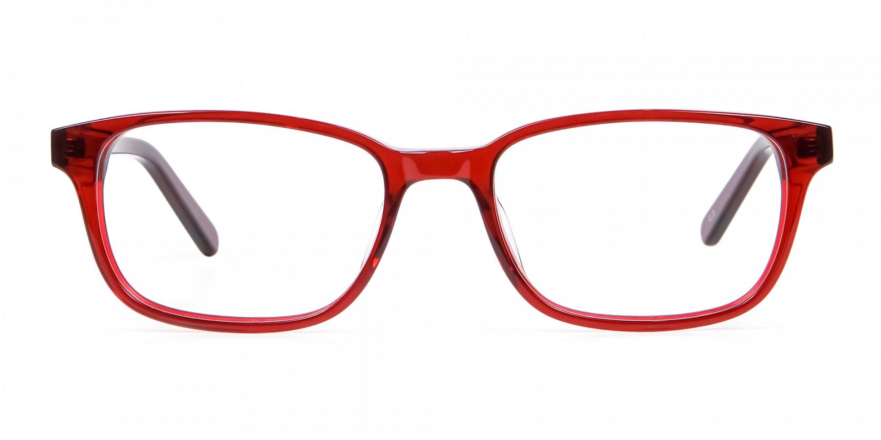 Red Wayfarer Glasses Online