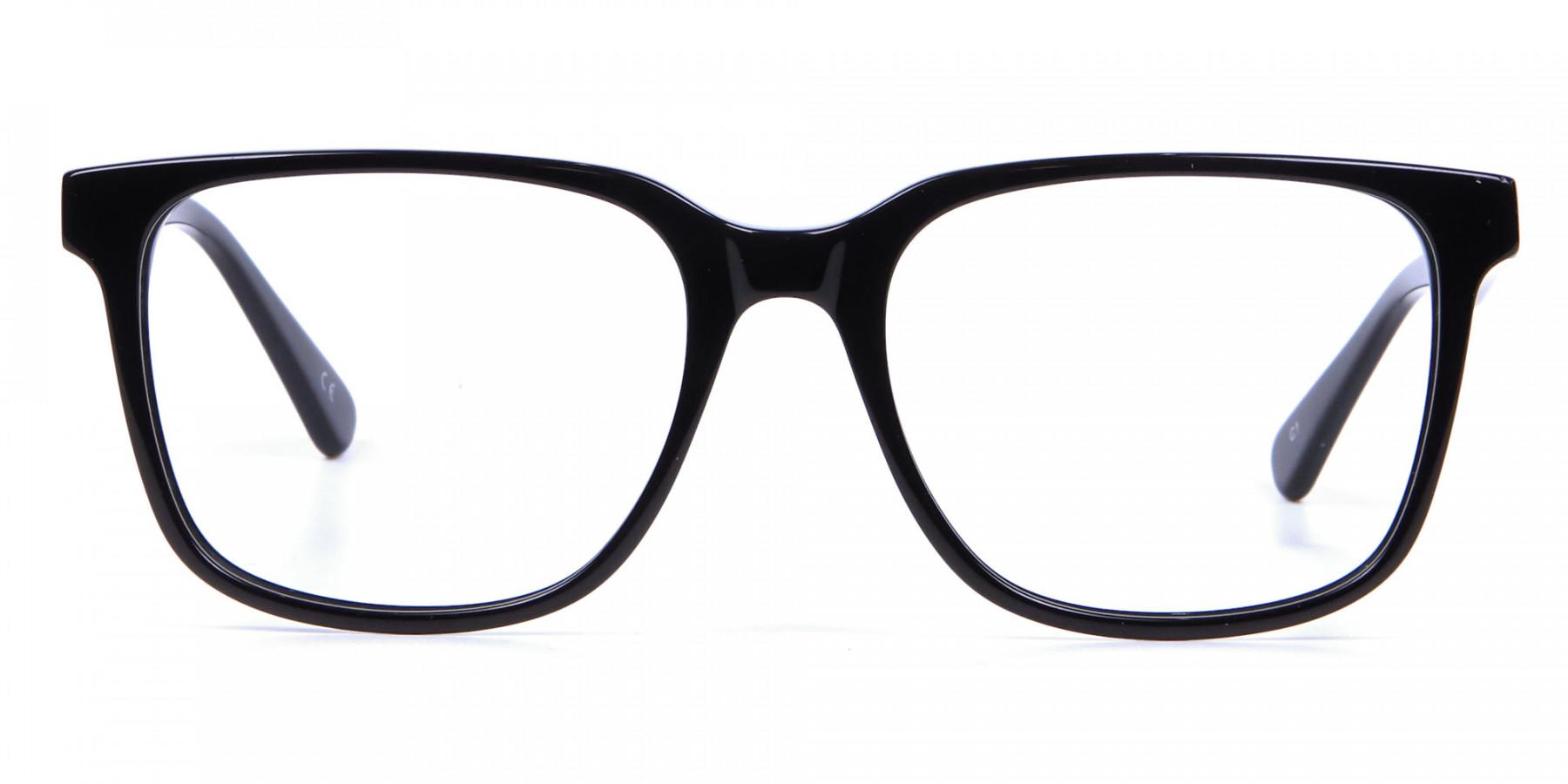 Darkest Black Glasses