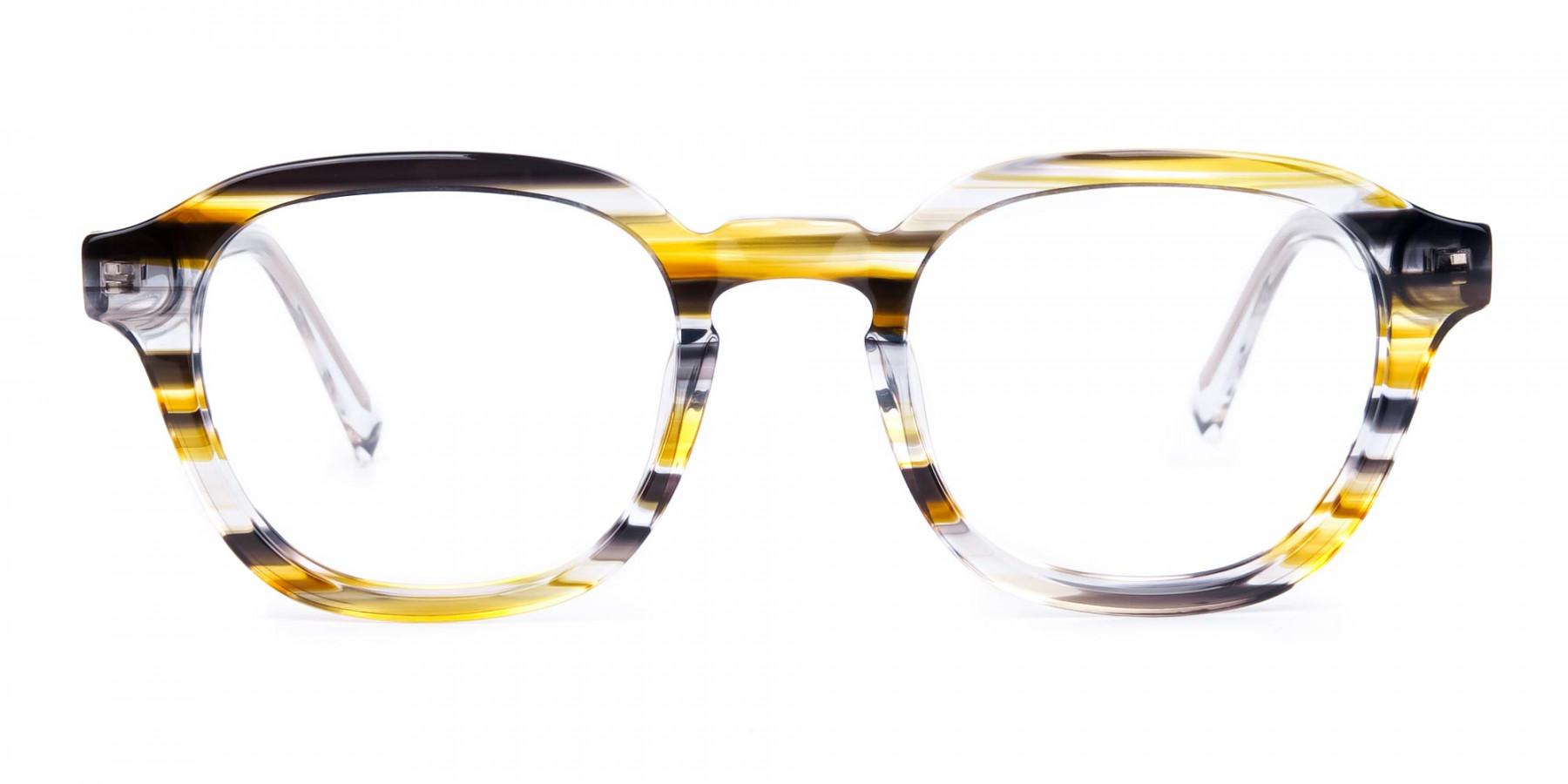 Black-Yellow-Crystal-Geometric-Glasses-1