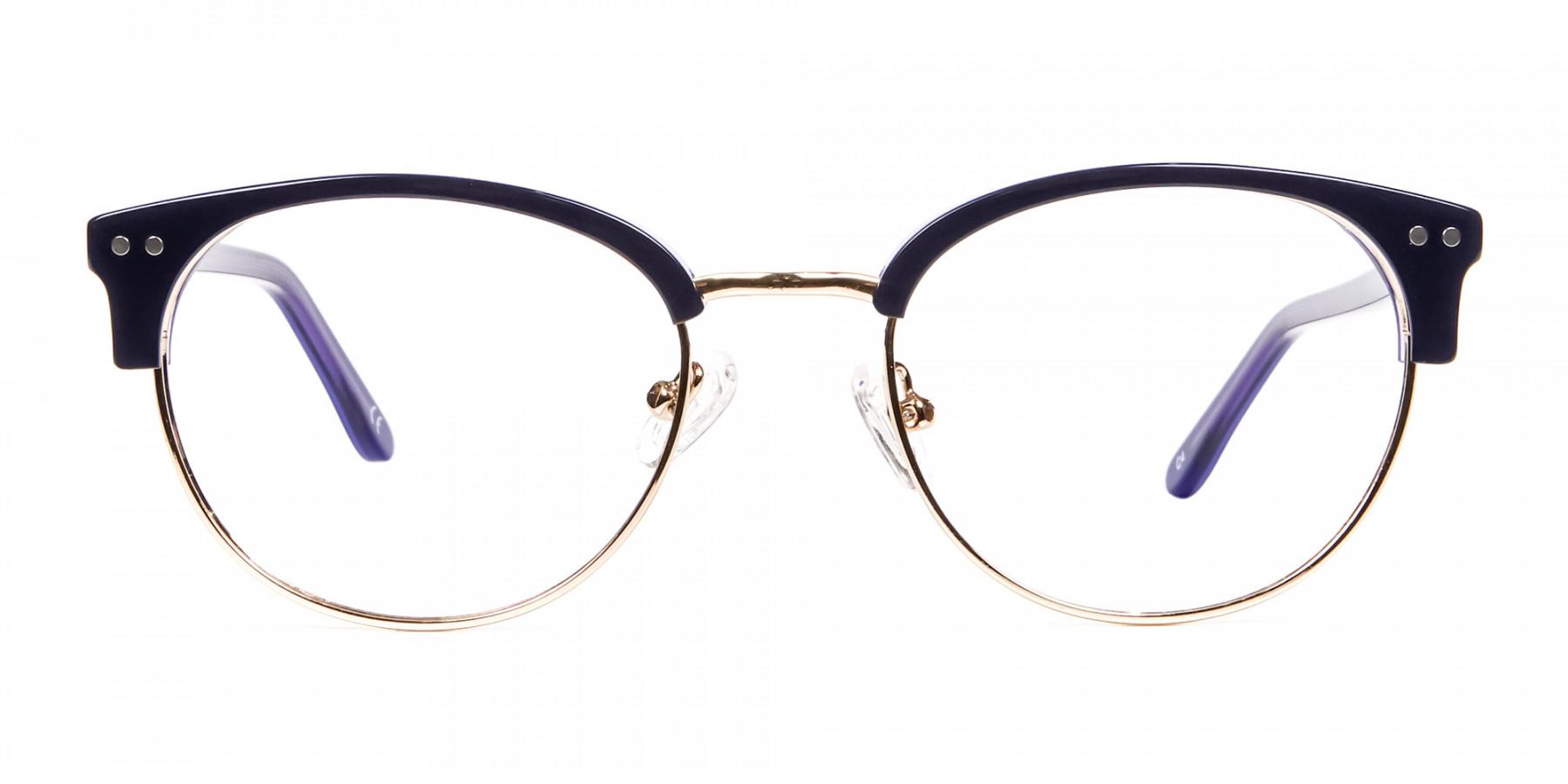 Violet Black Eyeglasses -1