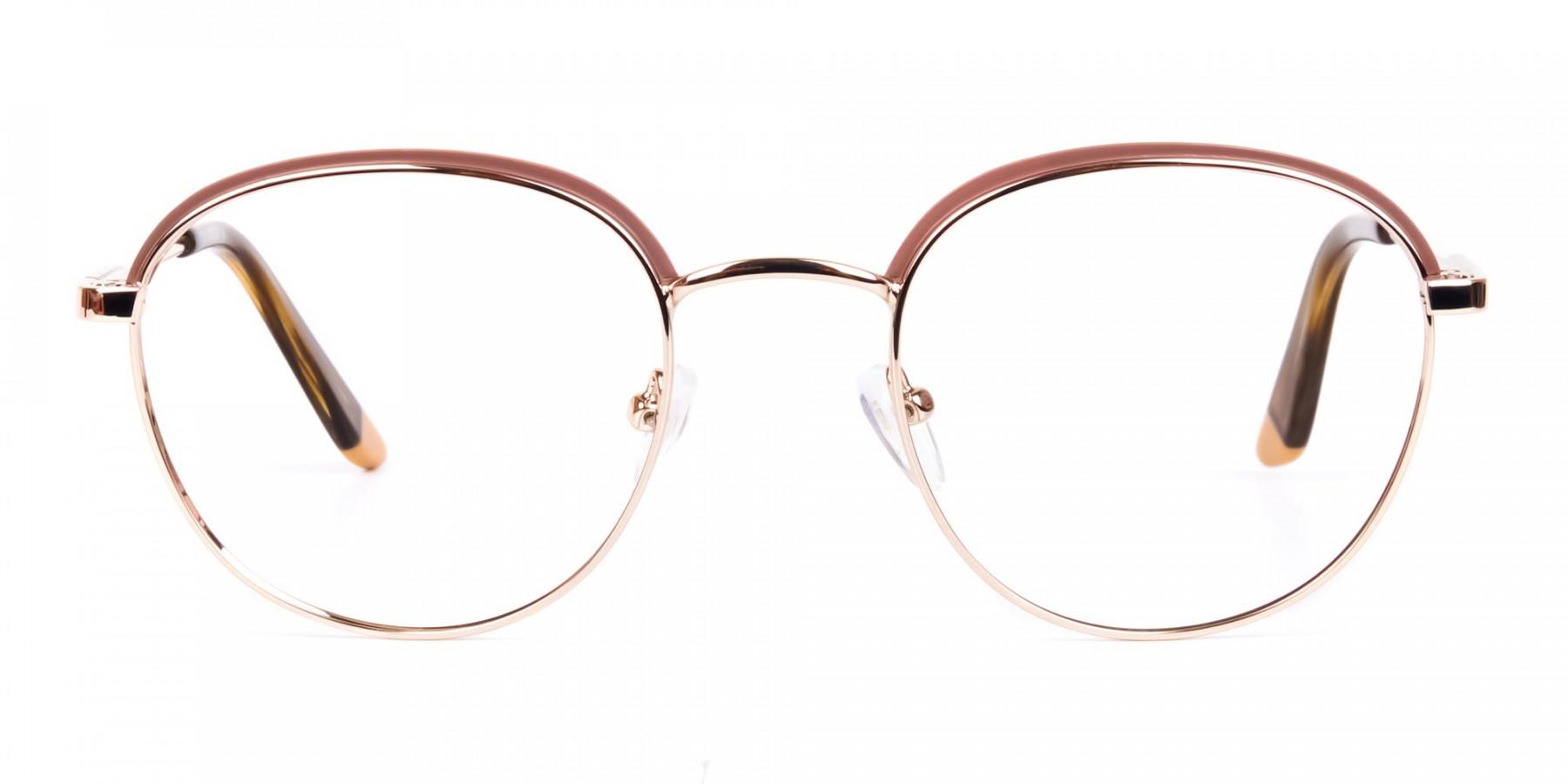 Brown-Gold-Round-Aviator-Glasses-1