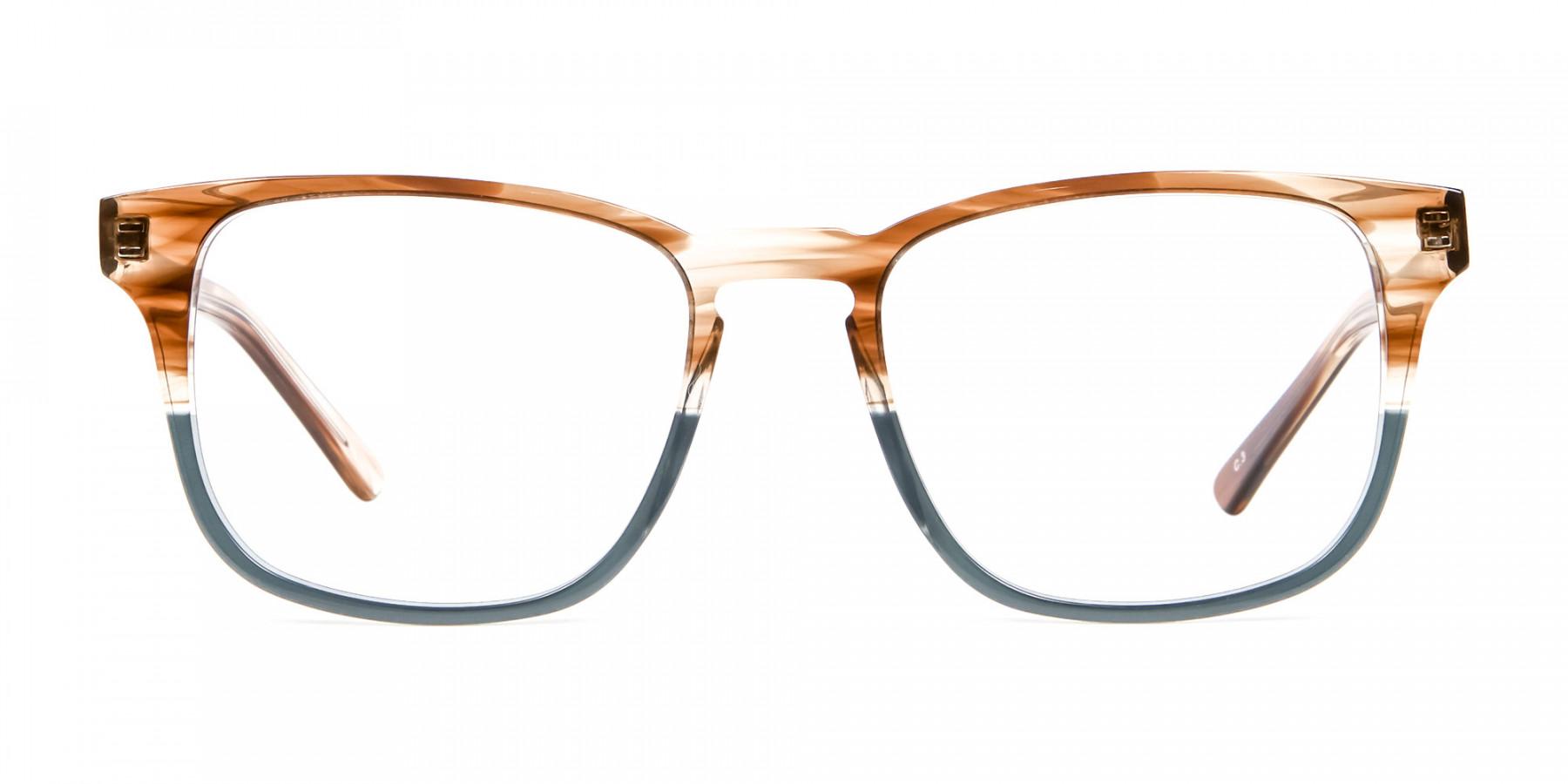 Maple Havana & Green Frames -1