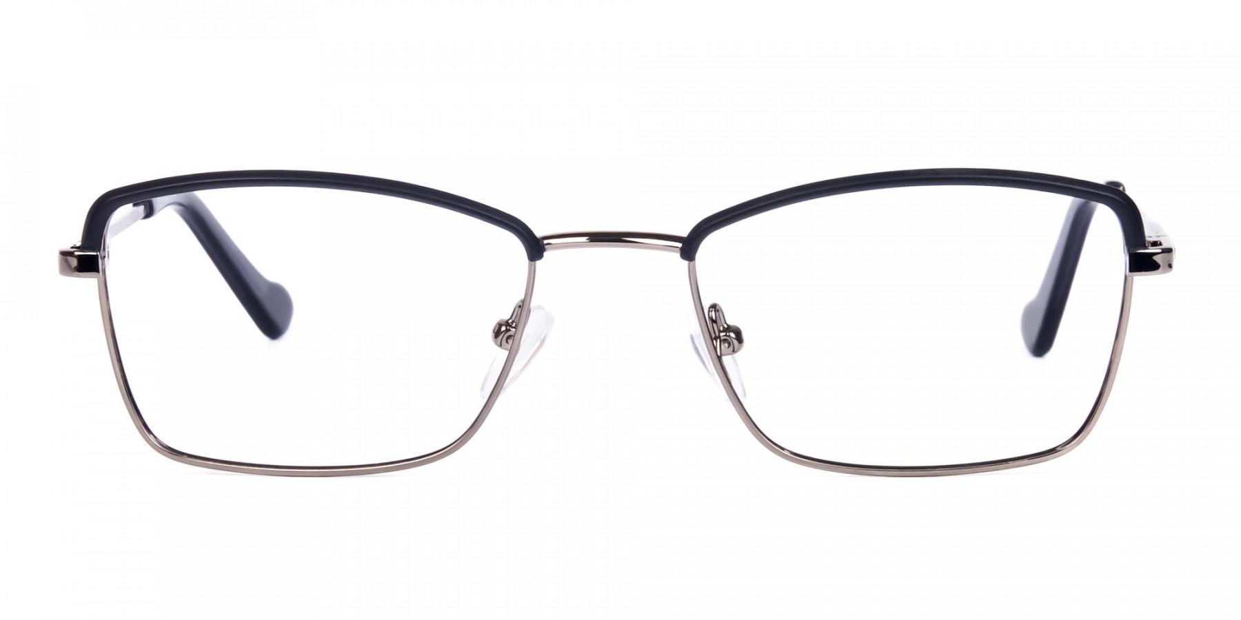 metal frame blue light glasses-1