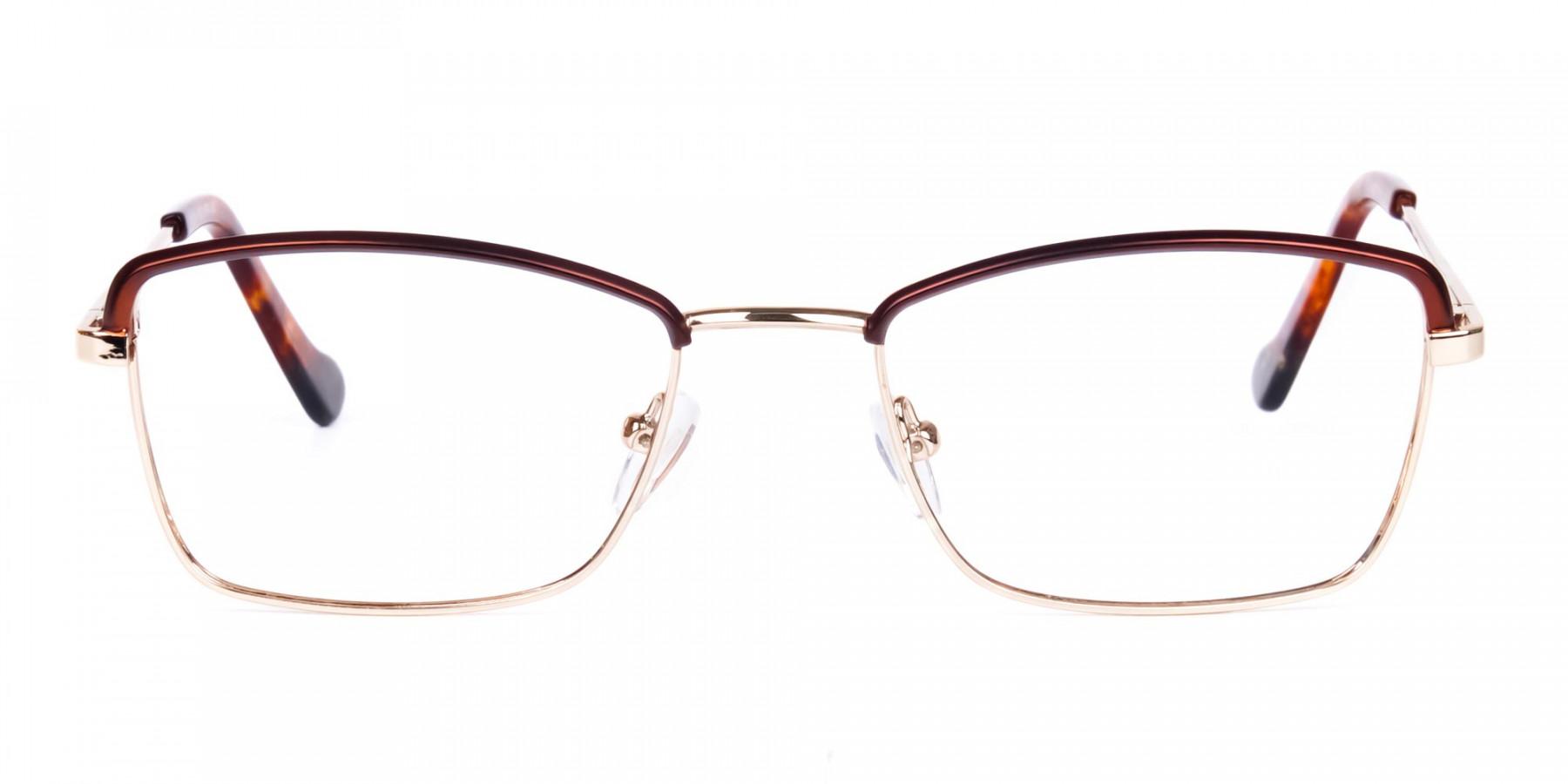 gold blue light glasses-1