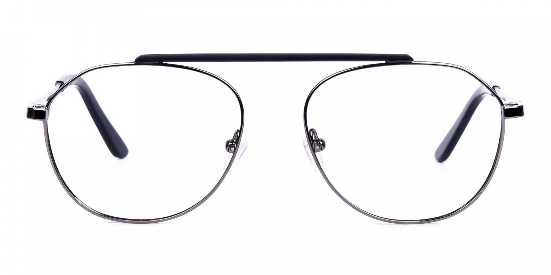 Classic-Black-Gunmetal-Aviator-Glasses-1