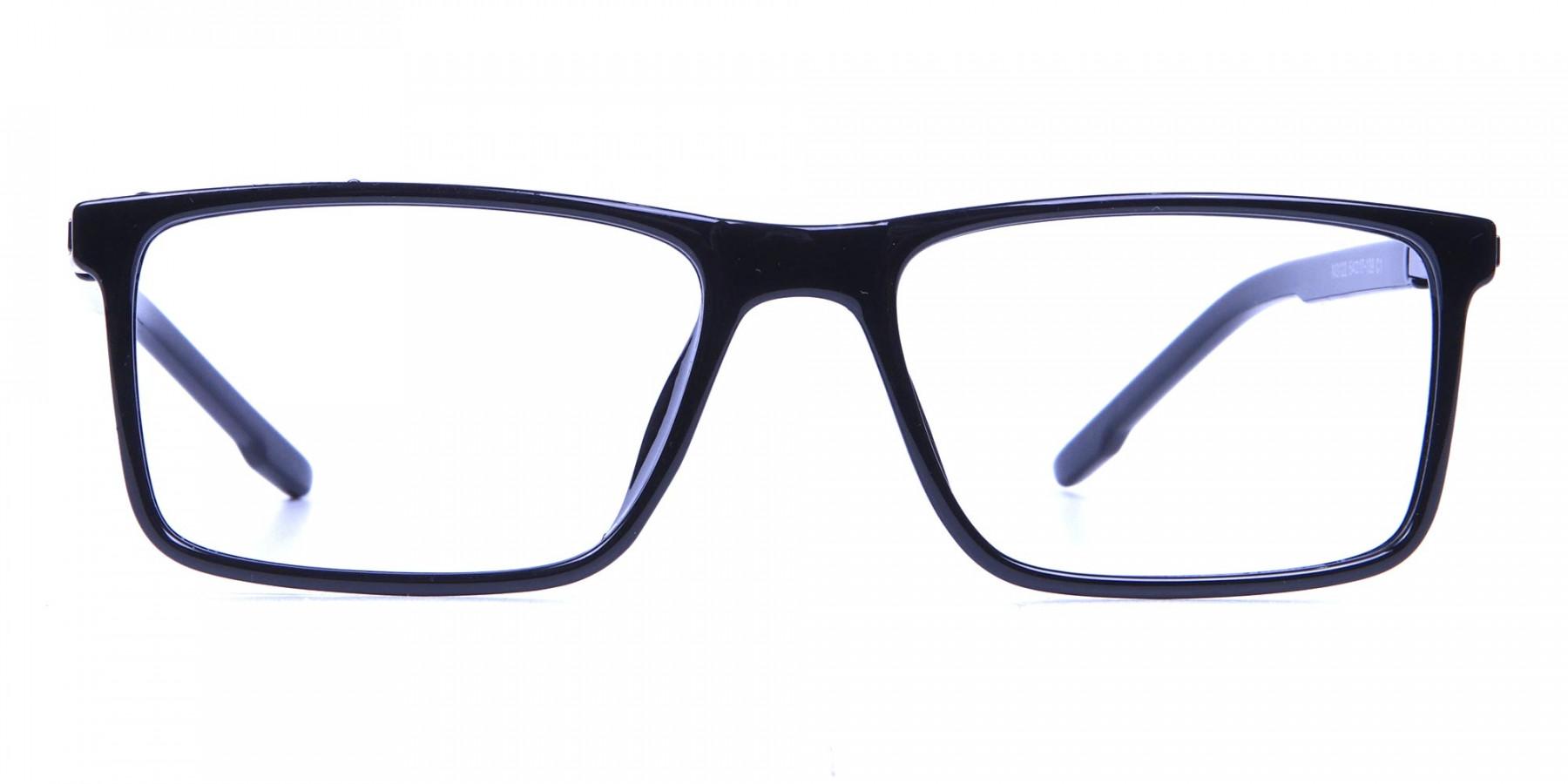 Handmade Black Glasses