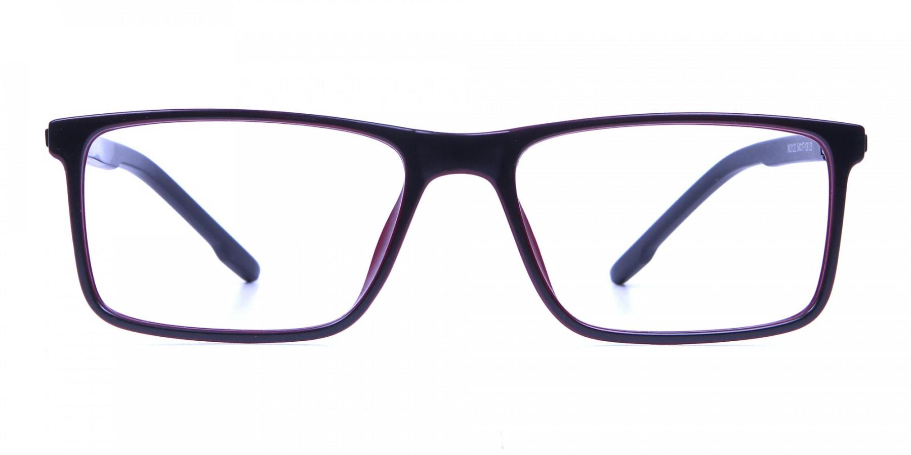 Black & Red Designer Glasses