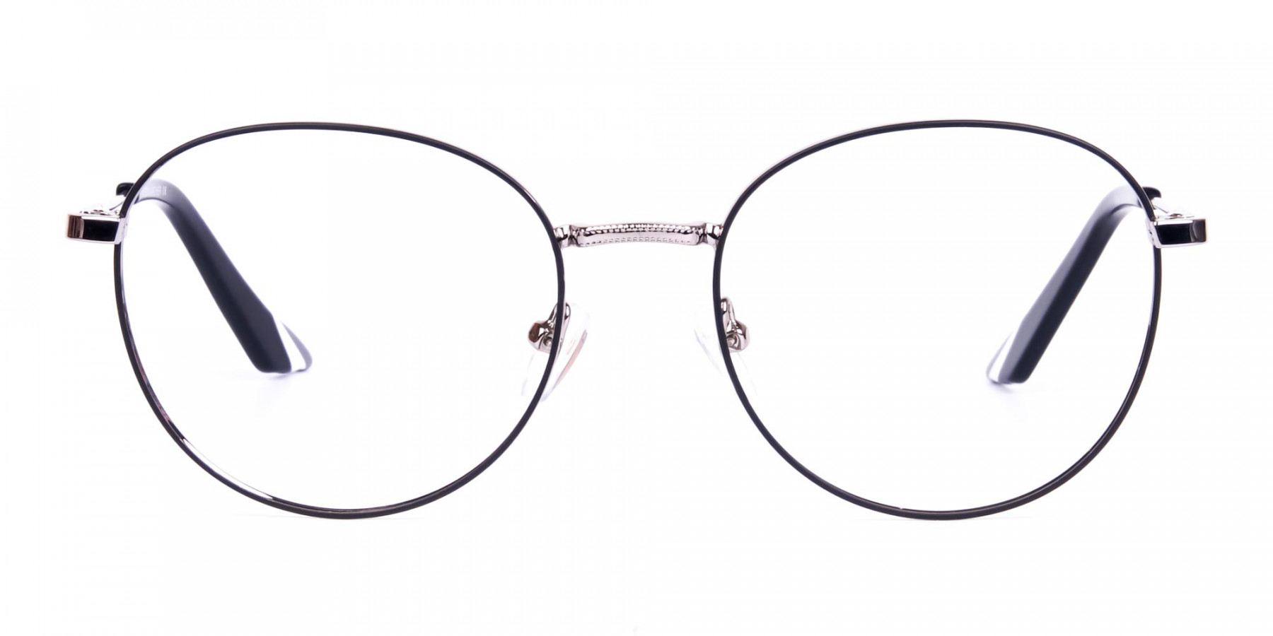 Classic-Black-and-Silver-Round-Glasses-1
