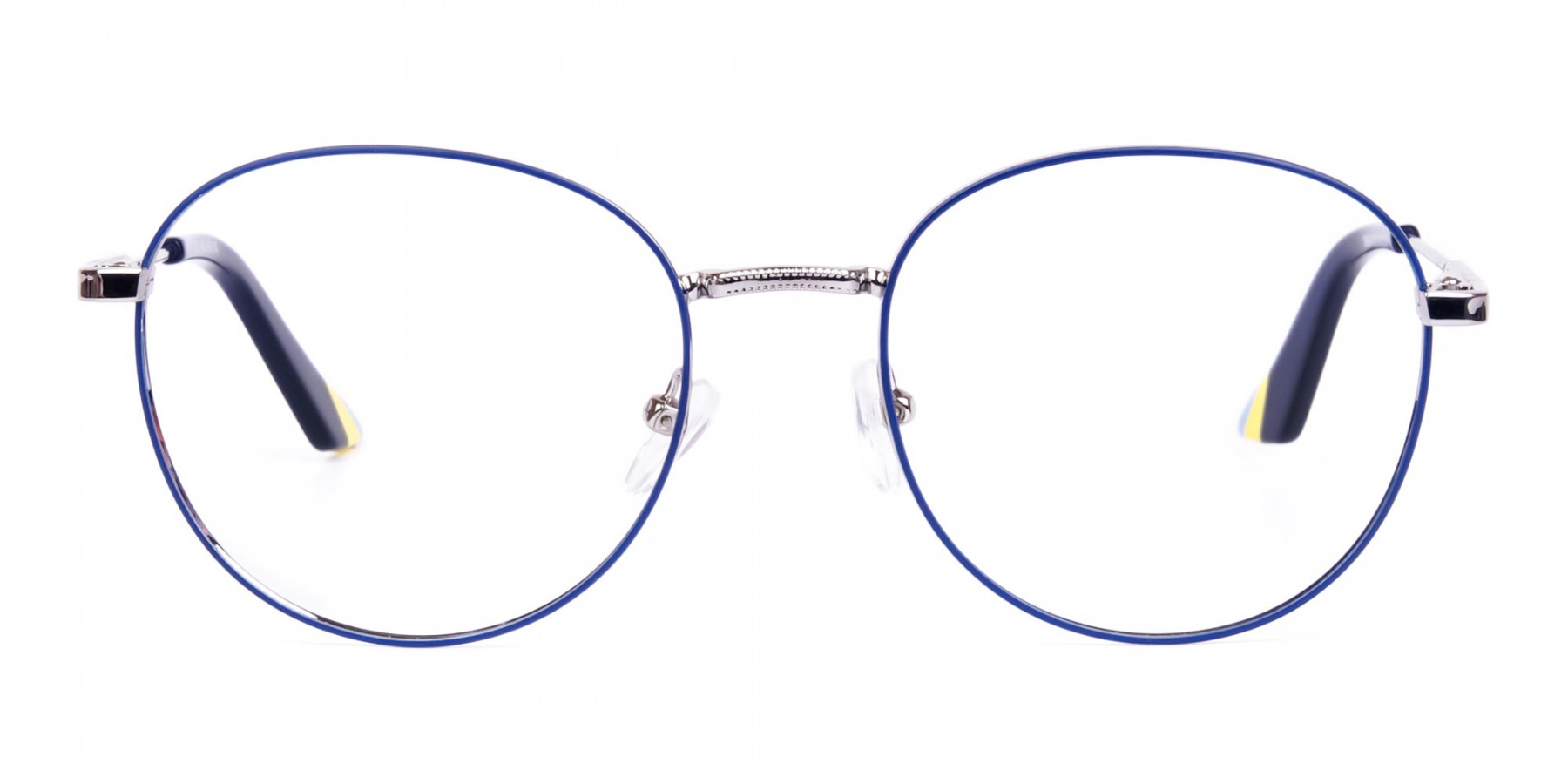 Navy-Blue-and-Silver-Metal-Round-Glasses-1