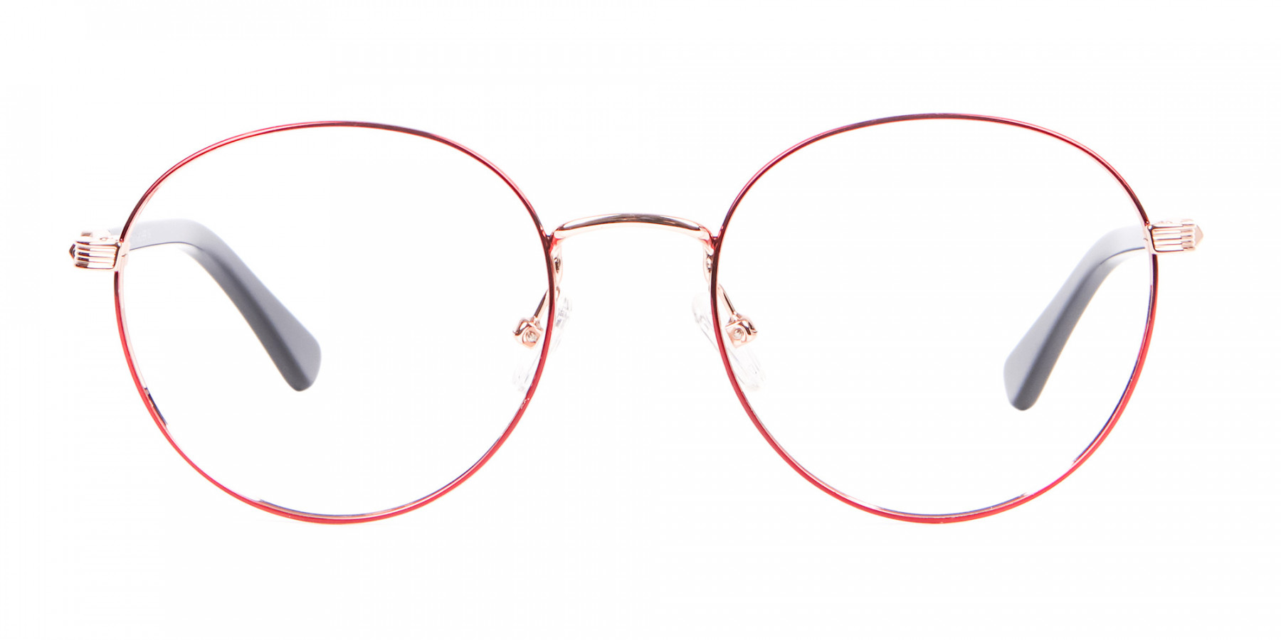 Red Metal Round Frame-1