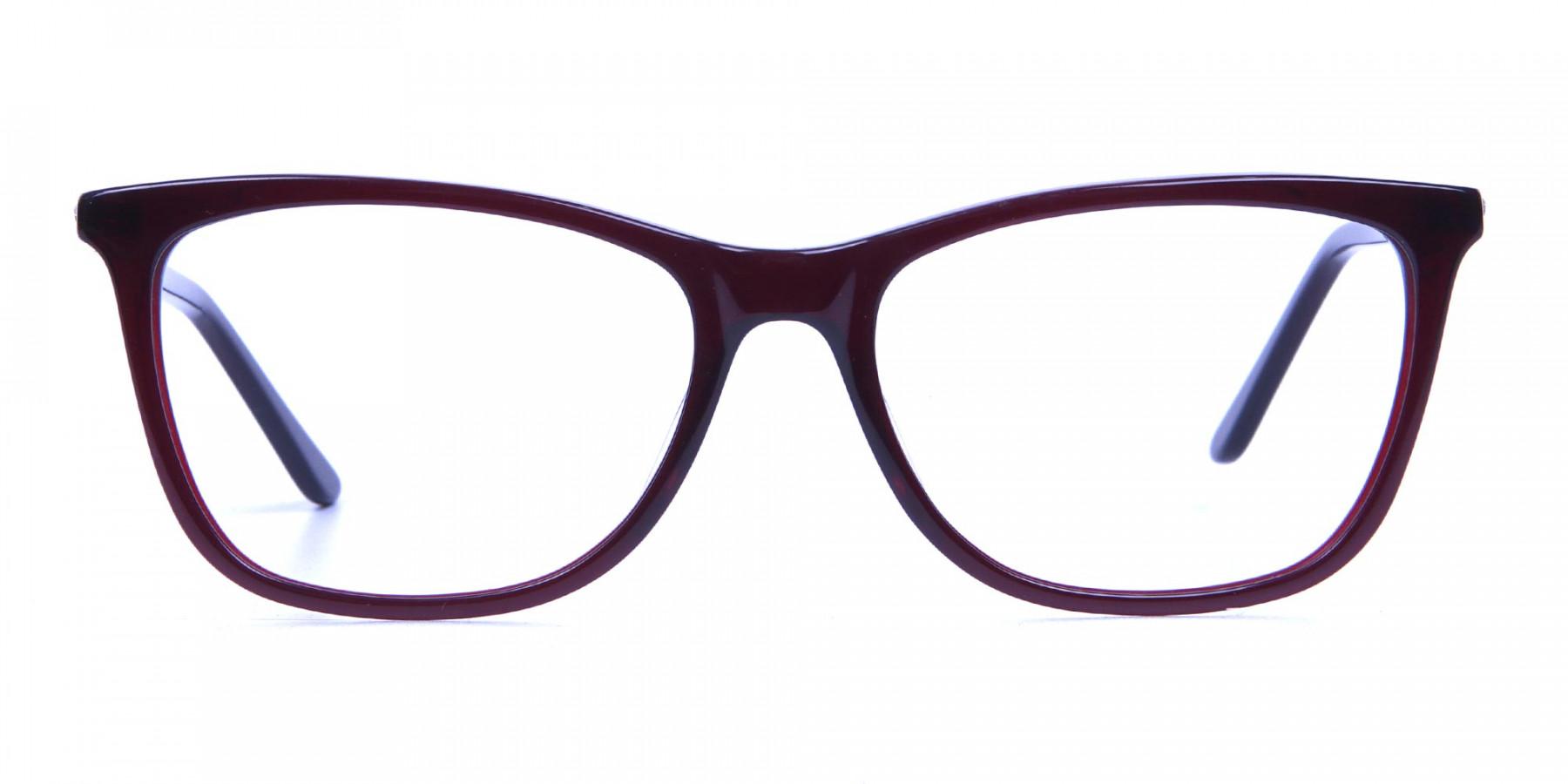 Modern Glasses in Dark Rain